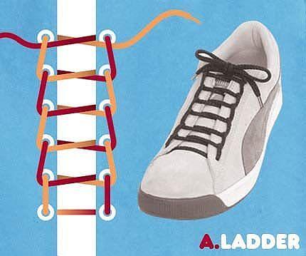 Как завязать шнурки 10