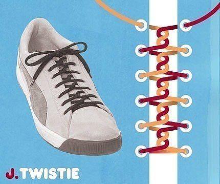 Как завязать шнурки 11
