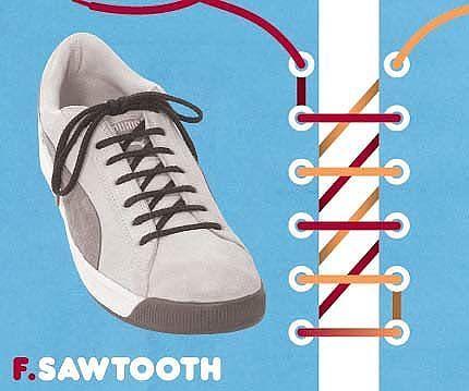 Как завязать шнурки 2