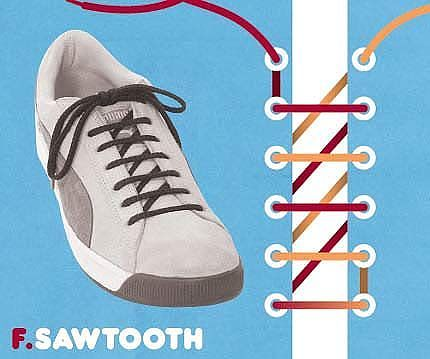 Как завязать шнурки 3