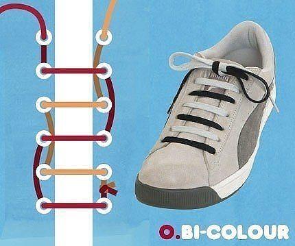 Как завязать шнурки 5