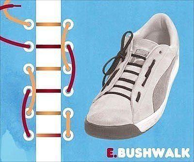 Как завязать шнурки 6