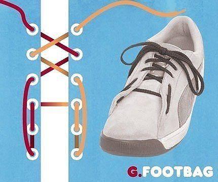 Как завязать шнурки 7
