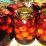 Что можно приготовить из оставшихся фруктов от компота?